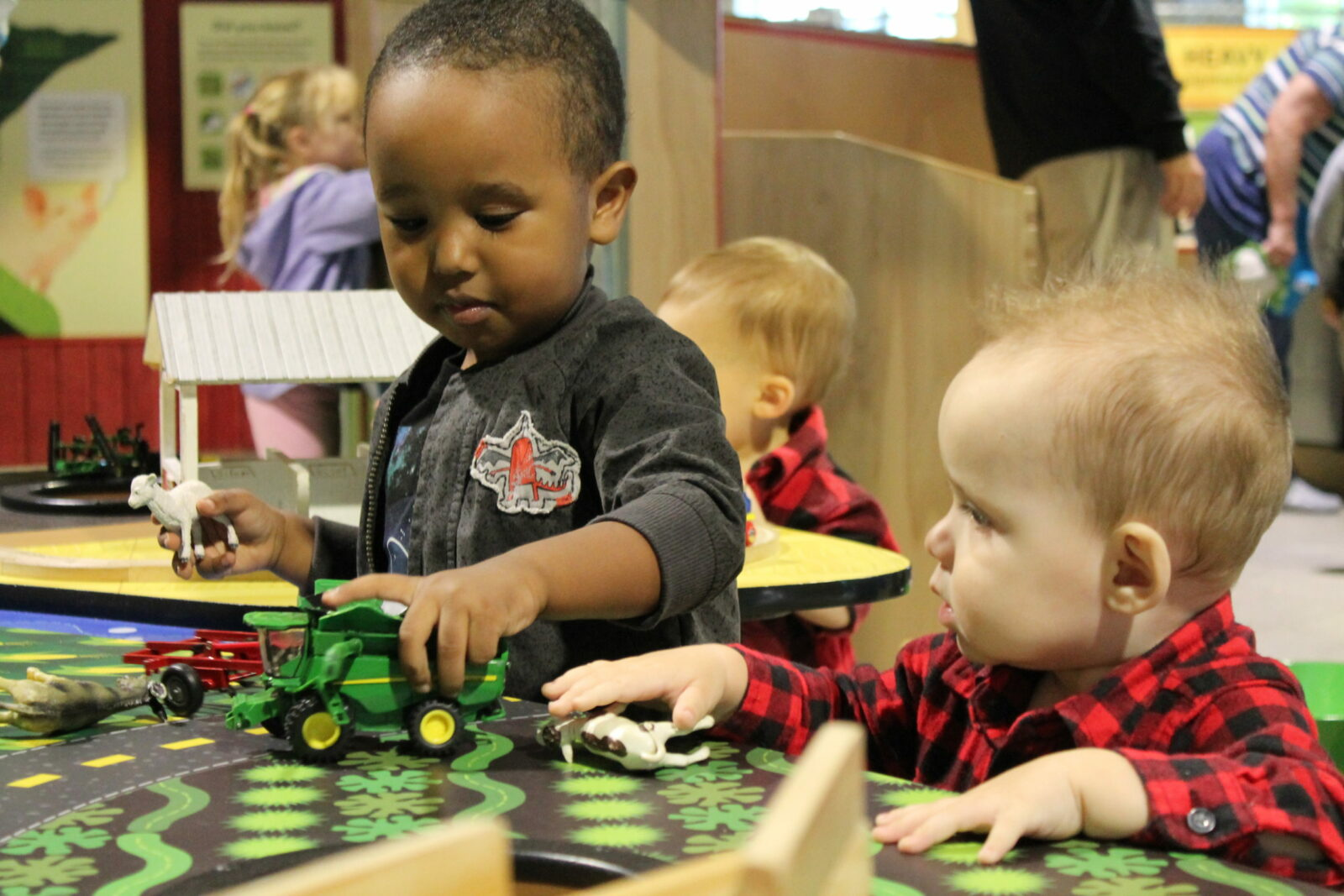 Little Hands Farm in the Grow It Gallery at the Children's Museum of Southern Minnesota