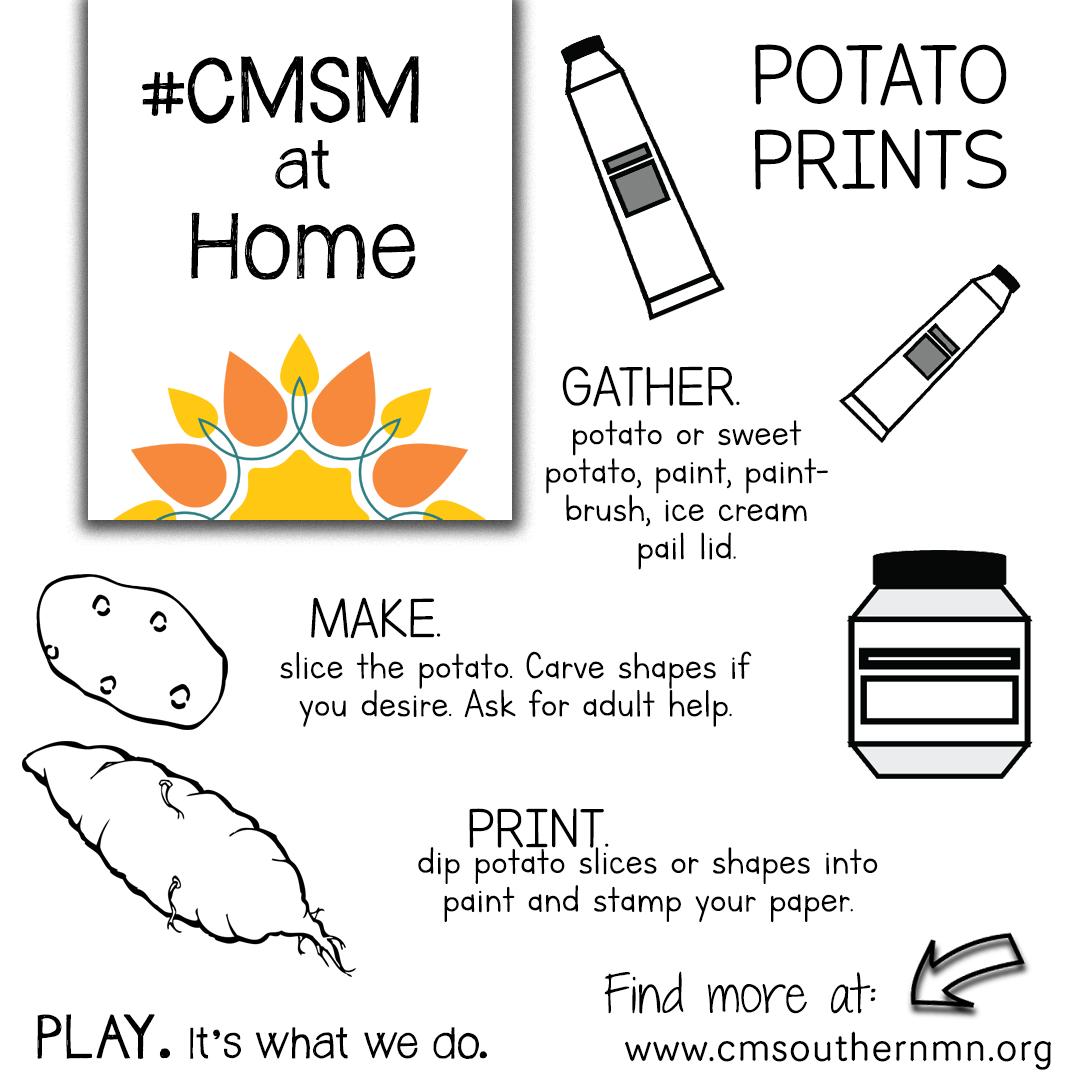 Potato Prints | CMSMatHome