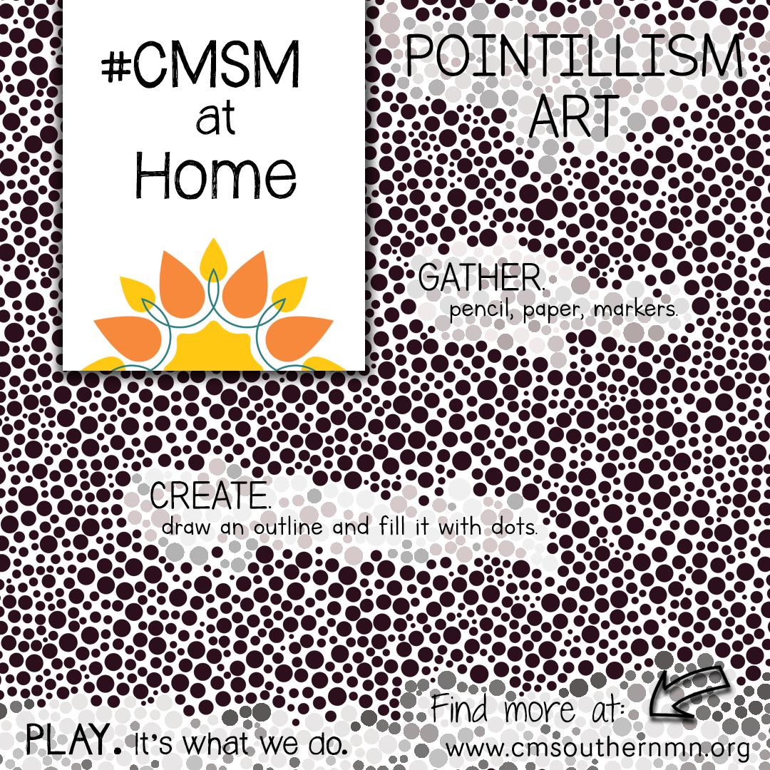 CMSM-at-Home-0042 Pointillism Art