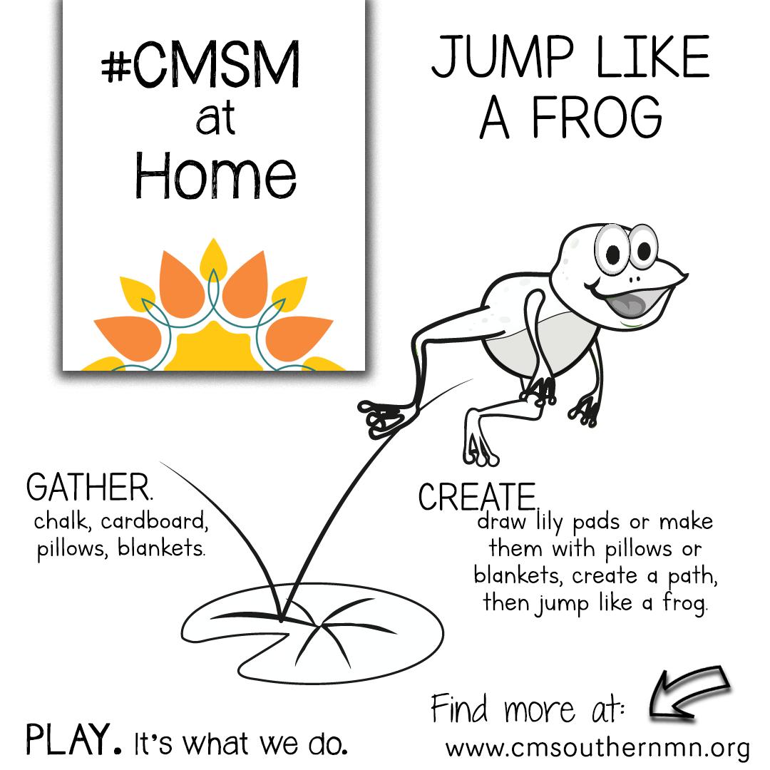 Jump Like a Frog | CMSMatHome