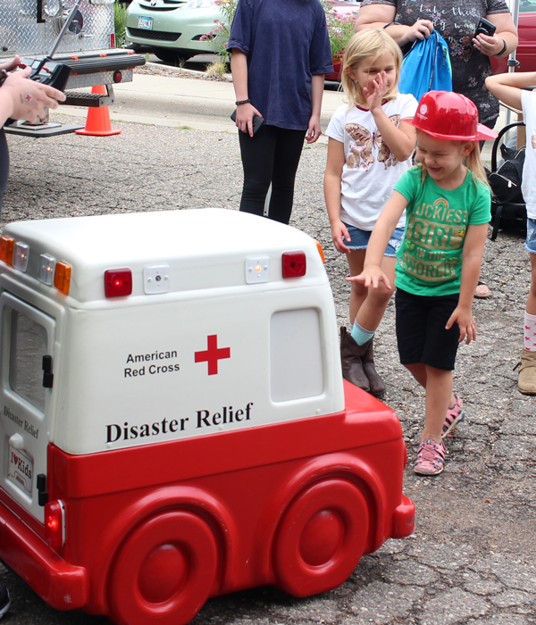 Fire Safety Day at the Childrens Museum of Southern Minnesota in Mankato 2019