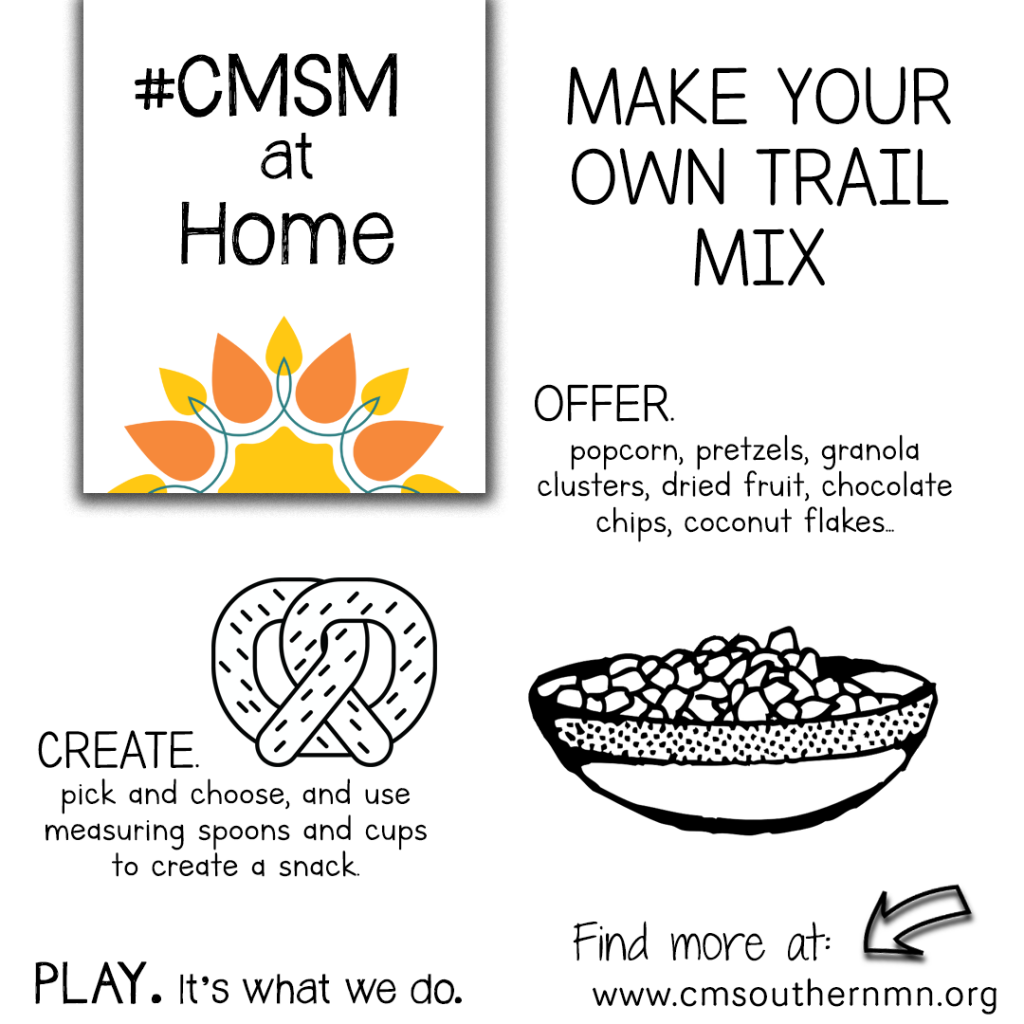 Make Your Own Trail Mix | CMSMatHome