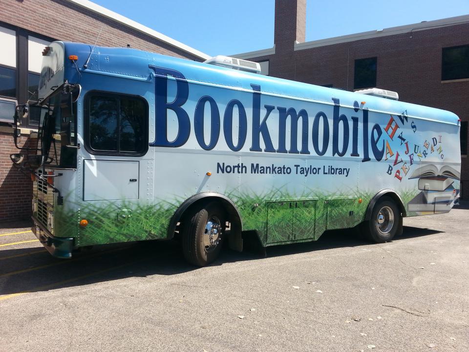 North Mankato Taylor Library Bookmobile