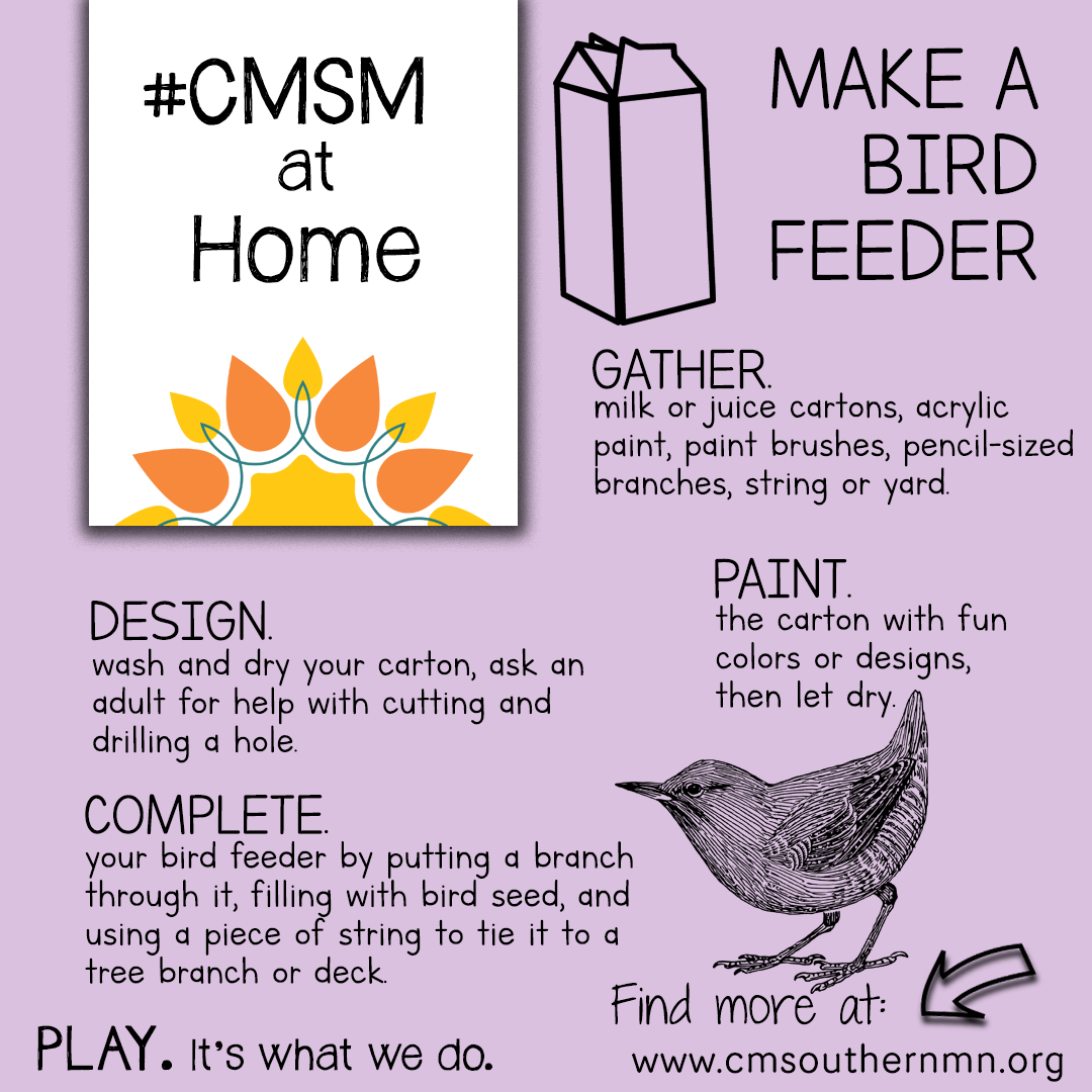 Make a Bird Feeder | CMSMatHome