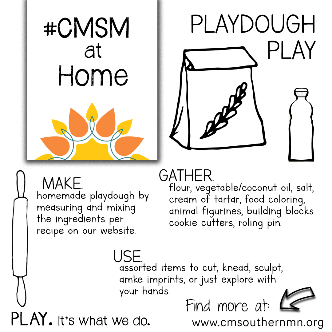 Playdough Play | CMSMatHome