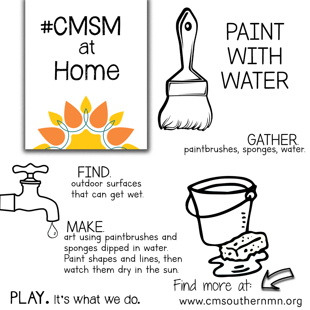 Paint With Water | CMSMatHome
