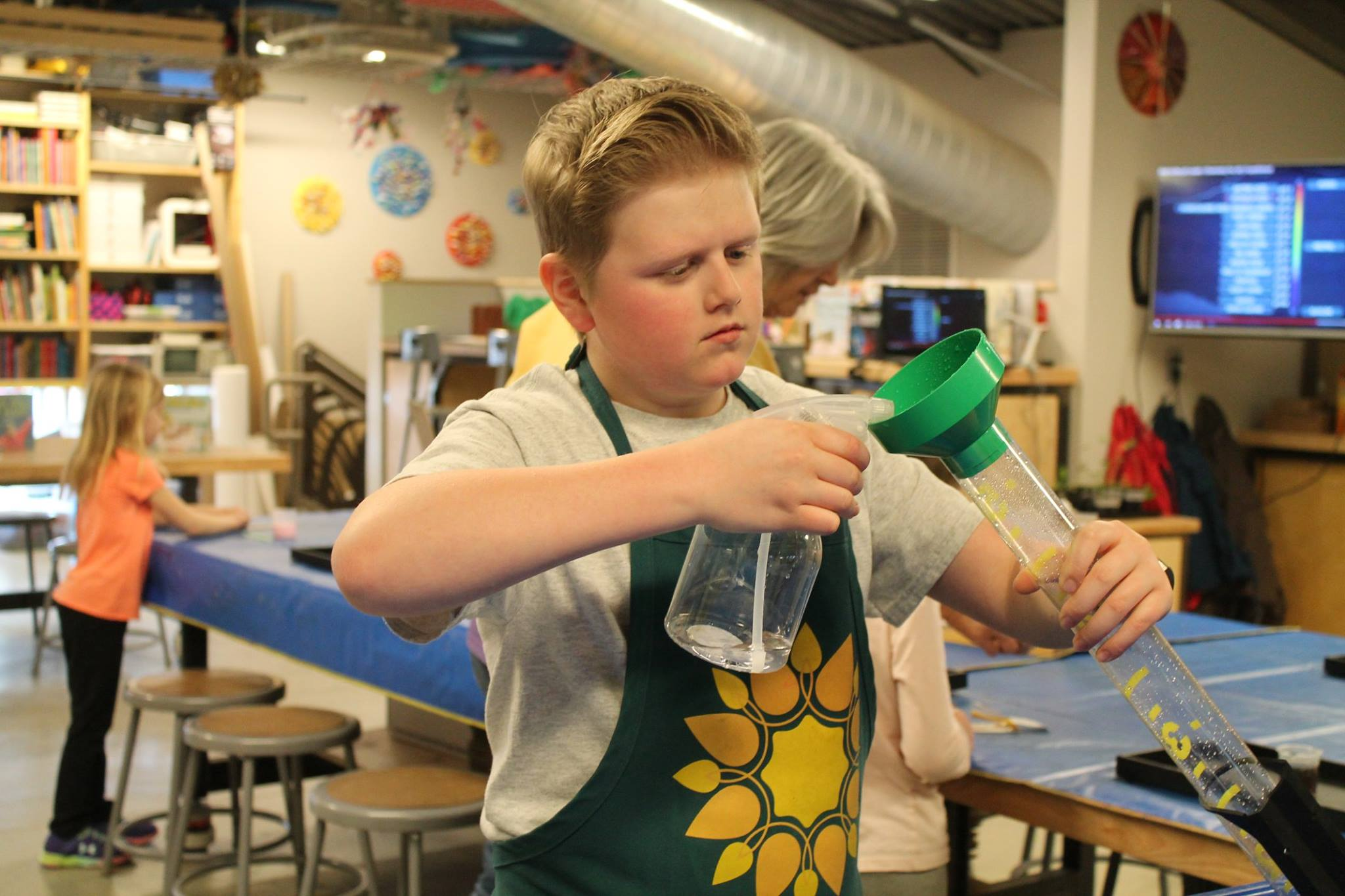 Teen Volunteer Playworker at the Children's Museum of Southern Minnesota