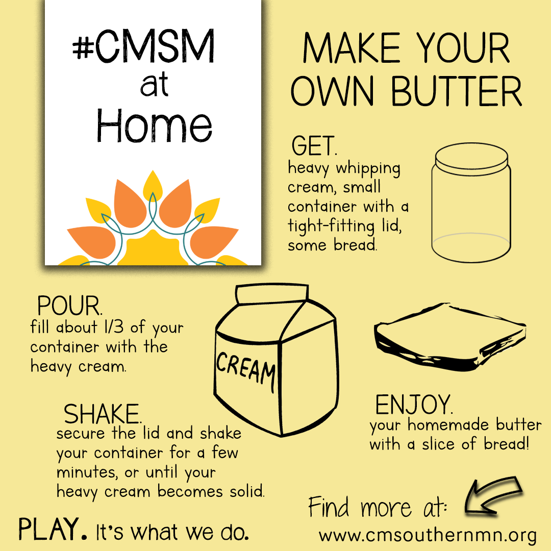 Make Your Own Butter | CMSMatHome
