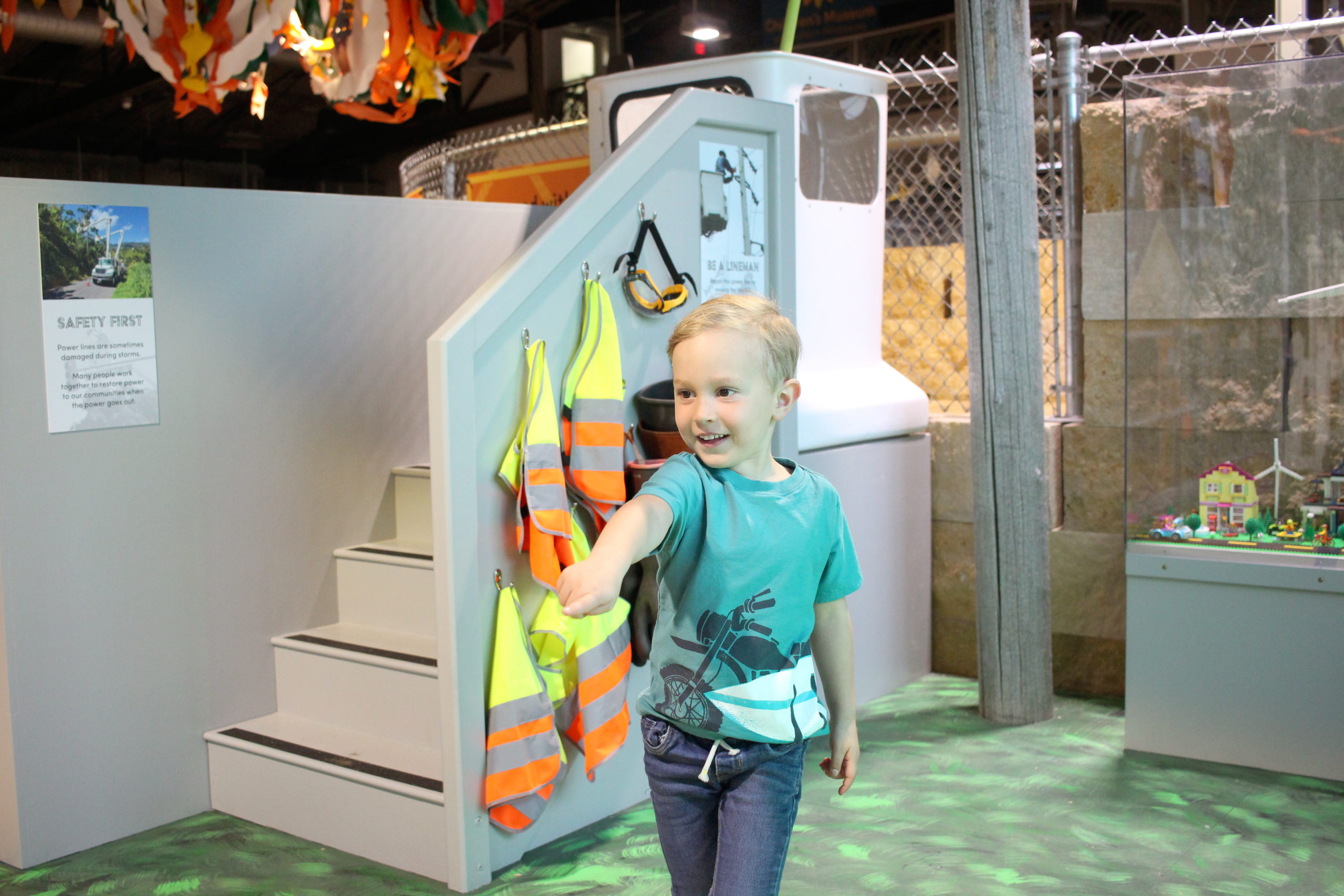 The Creation of Energy: Powered by Play Exhibit