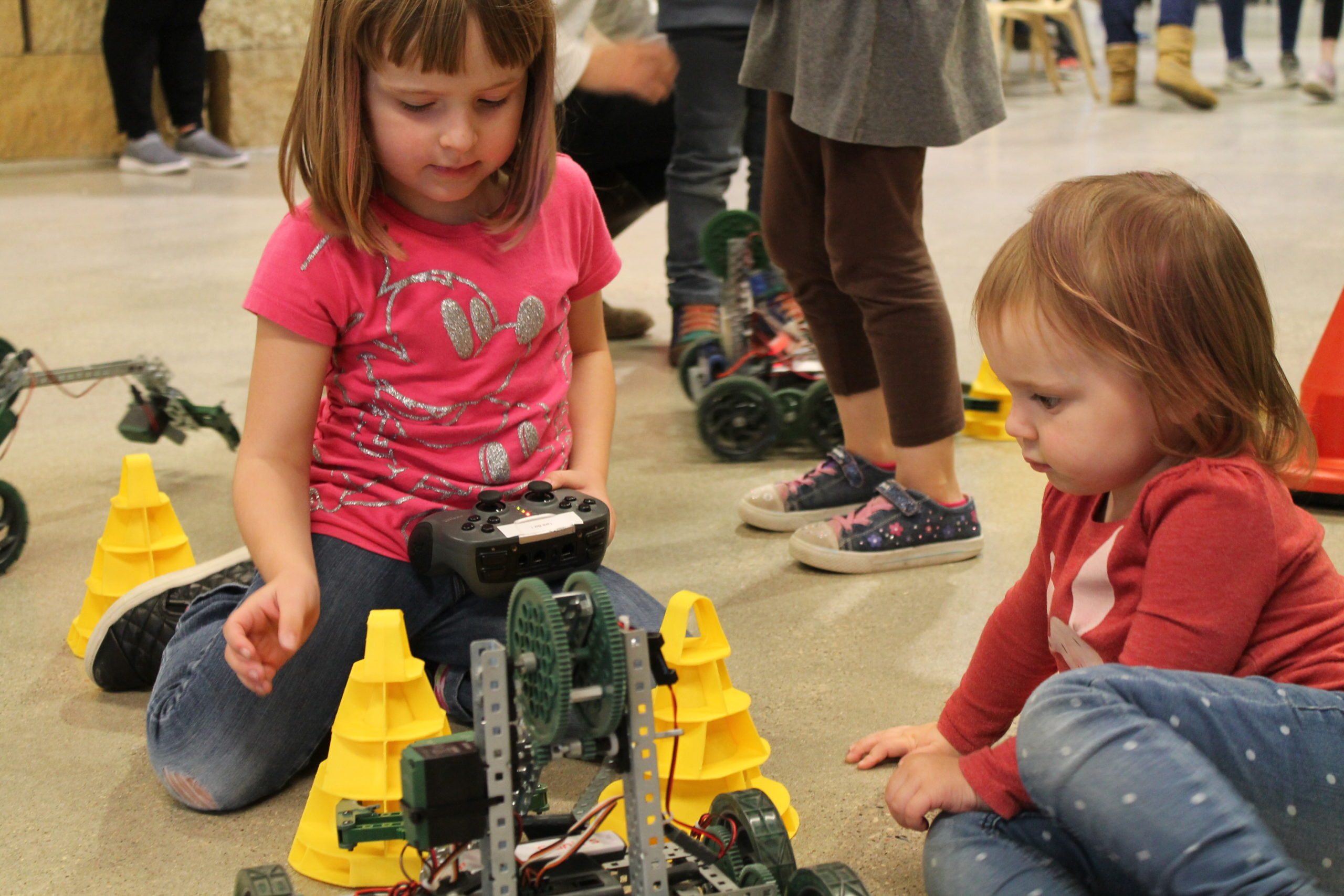 Early Education STEAM teaching at the Children's Museum of Southern Minnesota