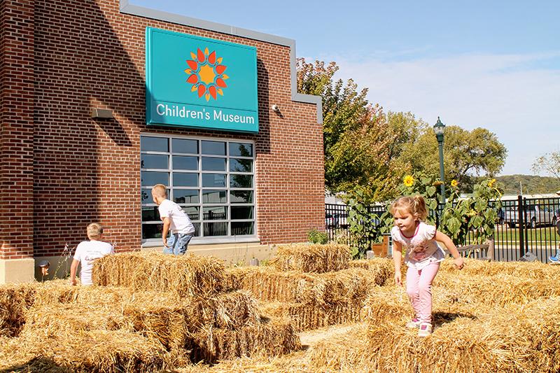 Harvest Fest fall festival at the Children's Museum of Southern Minnesota in Mankato