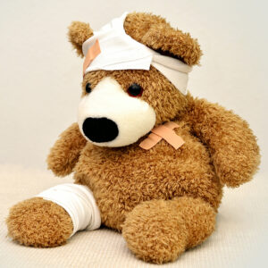 Fuzzy Friends teddy bear clinic with Minnesota Valley Pet Hospital at the Children's Museum Mankato
